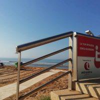 Grazie ad Andrea Licitra l'accessibilità alle spiagge di Marina di Ragusa