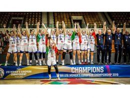 La Nazionale Under 18 di Stroscio e Savatteri è Campione d'Europa