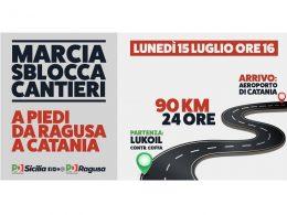 Oggi il PD siciliano si muove per la Ragusa – Catania con una iniziativa eclatante che tutti attendevano