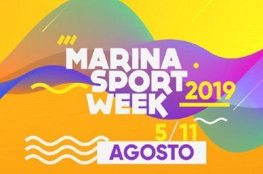 Al via MARINA SPORT WEEK