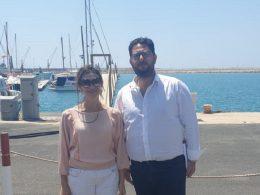Merci al porto di Pozzallo, visita istituzionale del Movimento 5 Stelle