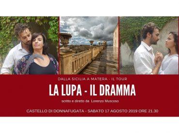 """Al Giardino Ibleo e al Castello di Donnafugata il tour """"La Lupa – Il Dramma"""""""