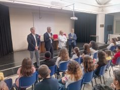 Continuano le visite del Sindaco, dell'assessore Iacono e del Presidente del Consiglio nelle scuole