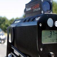 Controlli della velocità della Polizia Municipale con telelaser nel mese di febbraio