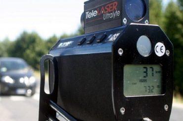 I controlli della Polizia Municipale con Telelaser nel mese di ottobre