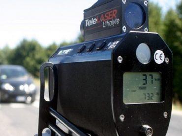 Attivi controlli  con apparecchiatura telelaser della Polizia Municipale, per il mese di gennaio 2020