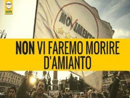 Allarme M5S: la Sicilia seppellita sotto un milione di metri cubi d'amianto, solo il 2% l'anno viene smaltito