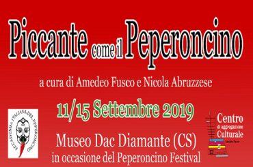 """""""PICCANTE COME IL PEPERONCINO"""", a cura di Amedeo Fusco e Nicola Abruzzese"""