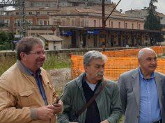 Riflessioni di Pippo Gurrieri fra metropolitana di superficie, area scalo merci, trasporto ferroviario e Museo ferroviario ibleo