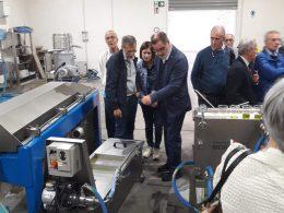 Il Movimento Federalista Europeo di Ragusa in visita all'azienda agricola Chiaramonte