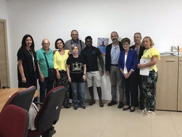 Volontari AVO fanno accoglienza al Pronto Soccorso del Giovanni Paolo II