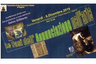 """A grande richiesta l'arch. Gilberto replica l'interessante conferenza sulle """"Fasi dell'Annunciazione"""""""
