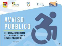 All'ASP pubblicato l'avviso per la presentazione delle istanze disabili gravi