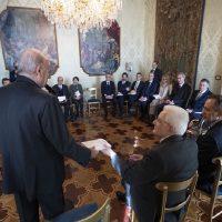 Il Sindaco Cassì al Quirinale con l'Associazione Mecenate 90