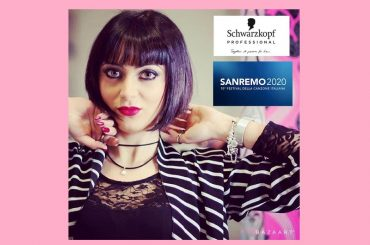 Valeria Parrino a Sanremo con Schwarzkopf Professional