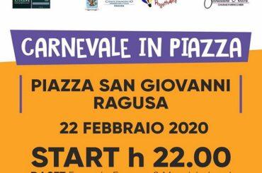 Una maniera intelligente di festeggiare il Carnevale, a Ragusa