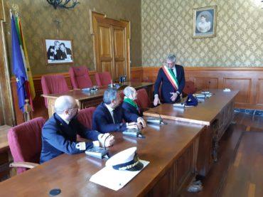 """Il Comune festeggia Gaudenzio Dimartino, centenario ragusano, ultimo marinaio superstite della nave da battaglia """"Littorio"""""""