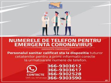 Informazioni e numeri utili  emergenza COVID19 multilingue