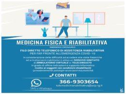 Filo diretto telefonico di assistenza riabilitativa