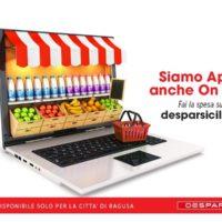 DESPAR Sicilia attiva lo shop online dal sito desparsicilia.it