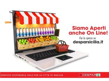 DESPAR Sicilia attiva lo shop online dal sito desparsicilia.it