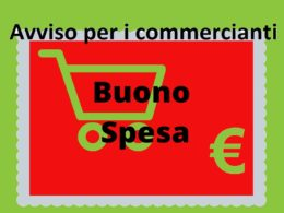 Avviate le procedure per identificare gli operatori commerciali che vorranno accettare i buoni spesa che sono già in distribuzione