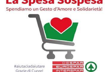 Spesa sospesa nei punti vendita del gruppo Ergon