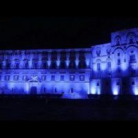 Gianfranco Miccichè ha voluto mantenere l'impegno di celebrare degnamente la Giornata Mondiale dell'autismo, illuminato di blu il Palazzo Reale