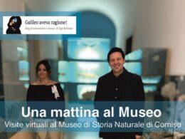 """""""Mattina al Museo"""", iniziativa di visite virtuali al Museo civico di storia naturale di Comiso"""