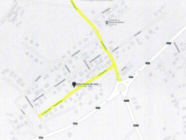 Posizionati dossi artificiali in Contrada Gatto Corvino, limite di velocità max 30 km
