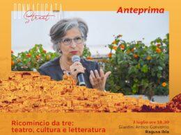 Donnafugata Street apre con la scrittrice Giuseppina Torregrossa