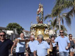 Solo celebrazioni liturgiche per Maria Santissima di Portosalvo a Marina di Ragusa