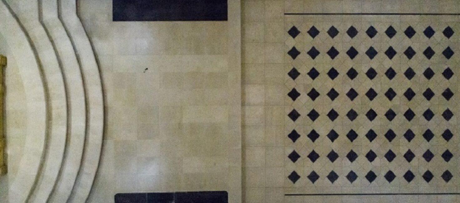 La nuova pavimentazione del Santuario della Madonna di Gulfi