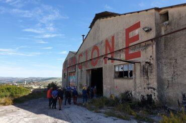 """""""Bitume"""" fa rivivere con 'arte' la dismessa area industriale della ditta Ancione"""