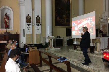 """""""San Francesco nell'arte"""", con l'architetto Giliberto, ha chiuso i festeggiamenti in onore di San Francesco, a Ragusa"""