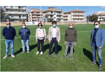Consegnata al Comune di Ragusa la nuova copertura sintetica del campo di rugby