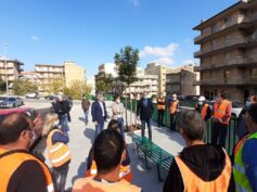 Completati i lavori di sistemazione del marciapiede di via E.C. Lupis