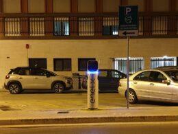 Finalmente attivate dall'ENEL quattro delle quindici colonnine previste per la ricarica delle vetture elettriche