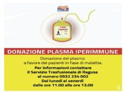 Appello per donare il sangue rivolto a donatori periodici e convalescenti non donatori