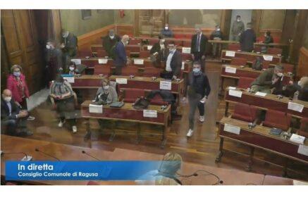 Emergenza COVID al Comune di Ragusa: aperta e rinviata la seduta di consiglio comunale