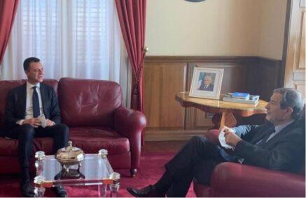 Minardo, segretario regionale della Lega, ha incontrato Musumeci e Miccichè
