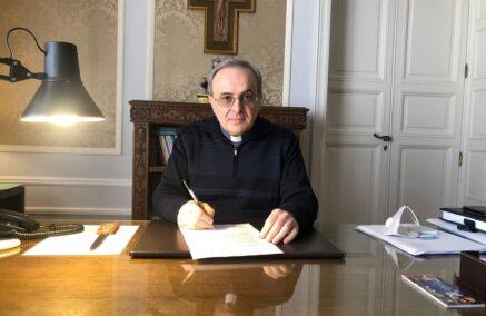 Il Messaggio per la Pasqua 2021 dell'Amministratore Apostolico della Diocesi di Ragusa