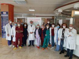 """Al """"Maggiore"""" di Modica tutti vaccinati gli operatori sanitari"""