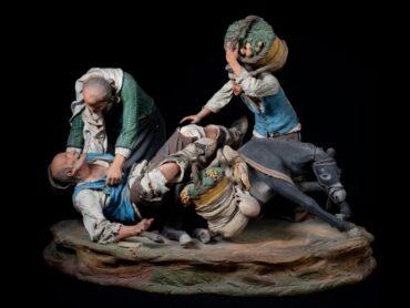 """""""Genti di Sicilia"""", in mostra  l'arte dei mastri Bongiovanni Vaccaro al Teatro Donnafugata di Ragusa Ibla"""