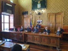 Il Rettore e il Direttore Generale dell'Università di Catania in visita a Palazzo dell'Aquila