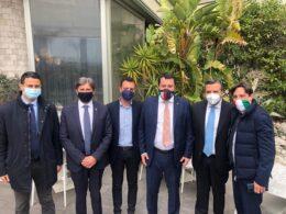 Nino Minardo costruisce la struttura della Lega in Sicilia