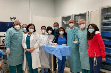 Resezione di un tumore del colon senza chirurgia