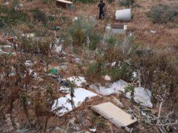 Oltre tre tonnellate di rifiuti rimossi dalle strade extracomunali iblee