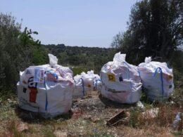 Raccolte nel territorio ibleo 8 tonnellate di rifiuti contenenti amianto