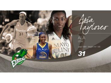 Asia Taylor alla Passalacqua Ragusa